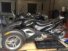 2009 Can Am Spyder Ed
