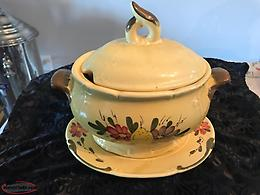 Variety Of Antique Dishware