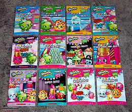 Shopkins Phonics Books Complete Set of 12