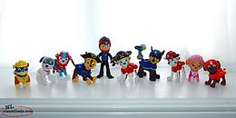 "Paw Patrol Figures Pirates, Scuba, etc. Lot of 10 ( 3"" )"