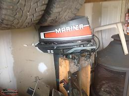 For sale two outbourd mariner motors