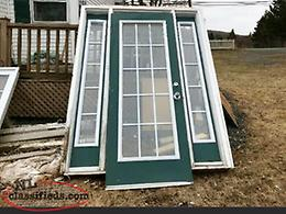 Exterior Steel French Door with Sidelights