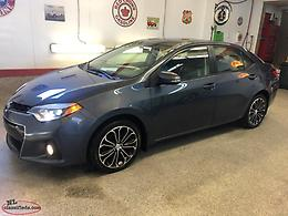 ***(SOLD)*** 2014 TOYOTA COROLLA S (VISIT OUR NEW WEBSITE-TOPAIL AUTO PLAZA.CA)