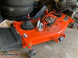 LIKE NEW KUBOTA BX LAWN MOWER ATTACHMENT $2000