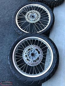 CRF250x Wheels And tires