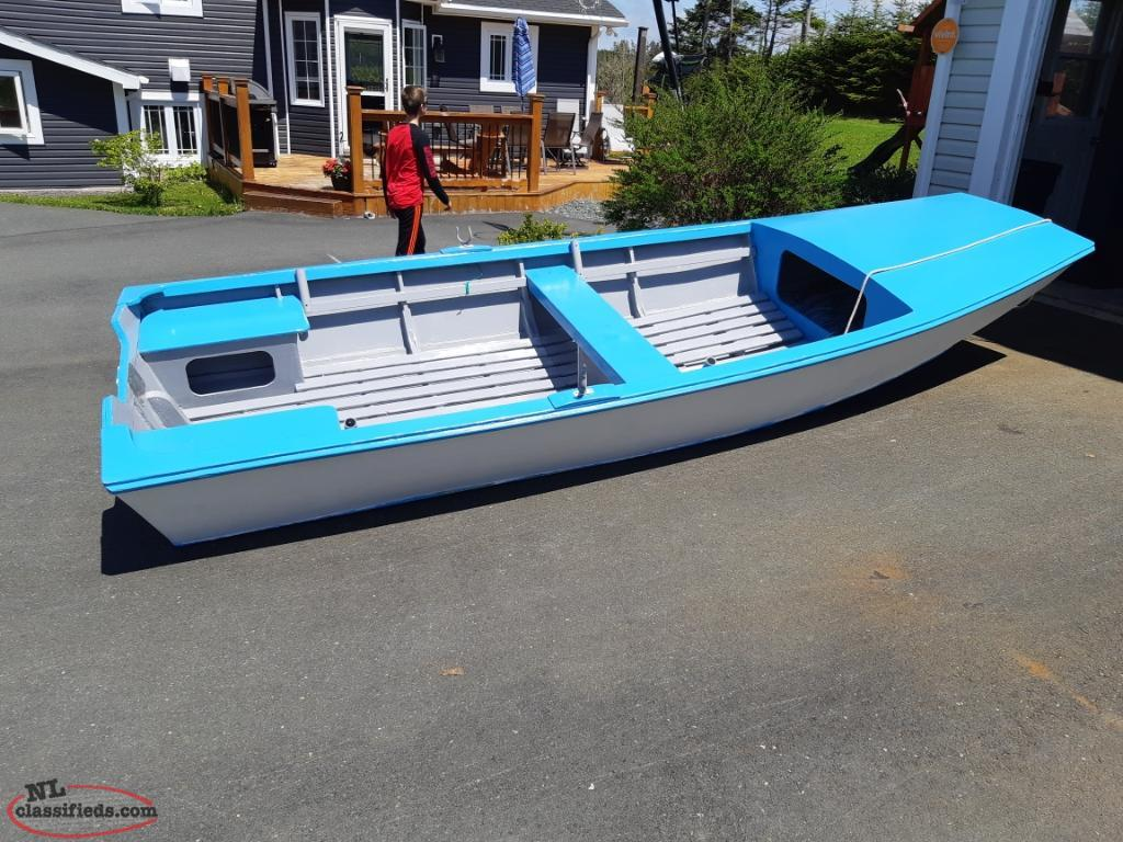 Newly Built 14 Ft Boat Fiberglass Over Wood Stphilips