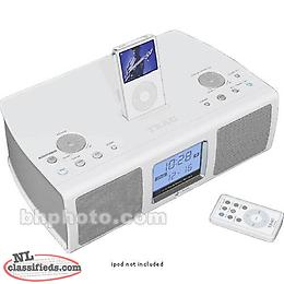 Teac SR-L200i Hi-Fi Table Radio with Ipod with remote control