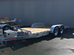 18 ft 14 K TILT DECK EQUIPMENT TRAILER