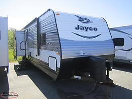 2016 Jayco 33RBTS Triple Slide Bunkhouse Trailer with Kitchen Island
