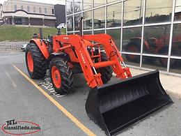 2014 Kubota M8560 with Loader