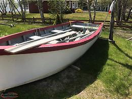 16ft flat bottom boat