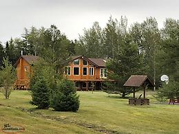 Waterfront Property ( House on 5.3 Acres )