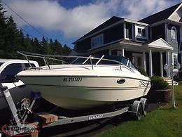 22 Foot Sting Ray Boat with 5.7 Mercruiser Engine for Sale