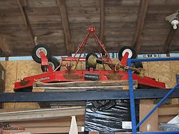8'. 3 point hitch lawn mower