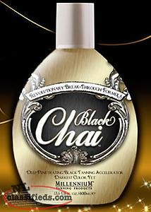 Millenium BLACK CHAI BRONZER TANNING LOTION 400ML