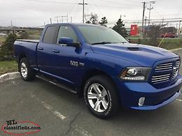 2016 RAM 1500 Sport Pickup Truck - Price Reduced