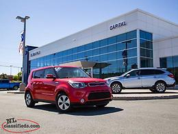 2014 Kia Soul 1.6L LX 6sp- $116.08 B/W Tax In