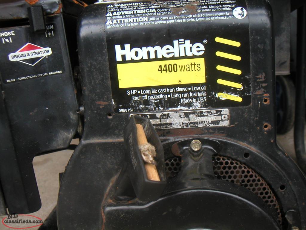 Prime Homelite 4400 Watt Generator Interior Design Ideas Gresisoteloinfo