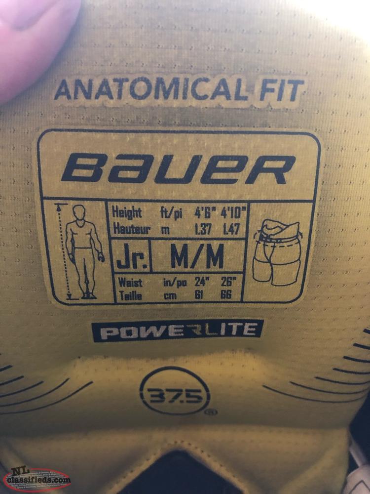 Bauer 1X Jr Shoulder Pads / Bauer 1S Hockey Pants - St