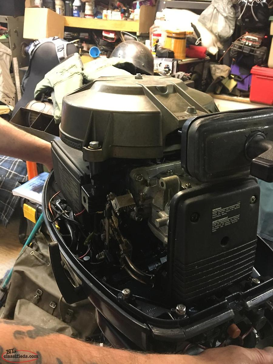 1989 40hp Yamaha outboard for sale