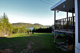 Waterfront cabin in Bonne bay Big pond,Newfoundland