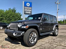 Save over $8,000 on New Jeep Wranglers at Marsh Motors Chrysler