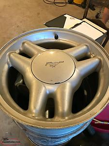 Mustang Pony rims