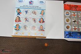 Mint Canada Post Hockey Stamps