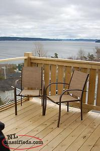 Waterfront furnished apartment in clarenville