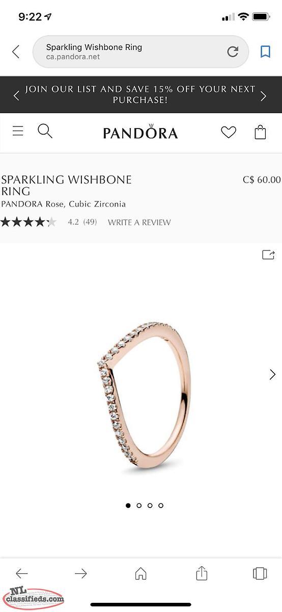 f5435160c0822 Rose gold pandora rings