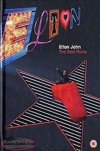 Elton John - The Red Piano 4-Disc Box Set DVD Excellent Condition