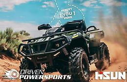 2019 Hisun Tactic 550 & 750 ATV with EPS