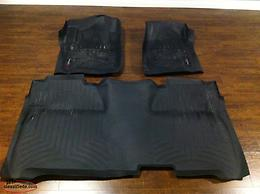 2014-2019 Silverado/Sierra Crew can weather tech floor liners