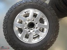 "18"" 8-LUG WHEEL & TIRE PACKAGE 2011-2018 SILVERADO/SIERRA..NO HST!!...BRAND NEW"