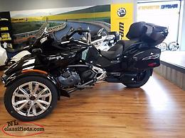 2017 CAN AM SPYDER F3 LIMITED WITH NAVIGATION 1300 K LOADED $26995.00