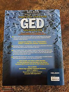 GED Preparation study book