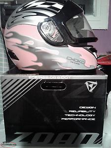 ladies medium new helmet