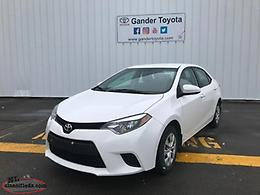 2016 Toyota COROLLA CE Air Conditioning Pkg