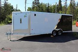 Beautiful New All Aluminum Drive-In-Out NEO 8.5 X 24.5 Car/ATV/Ski-doo Hauler
