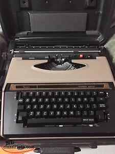 Complete Electric Typewriter System