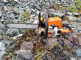 stihl 025 chainsaw