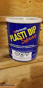 Black Performix Plasti-dip spray - 4 gallons - Mount Pearl