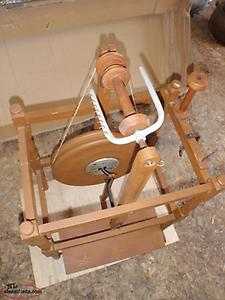 antique spin- well ( spinning wheel)