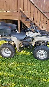 1999 Yamaha big bear 350 2x4