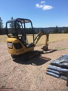 wanted cat 301.4 track