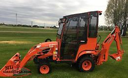"2018 ""New"" Kubota BX23S TLB with Tektite ROPS Cab"