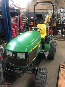 REDUCED TO SELL Diesel John deer tractor