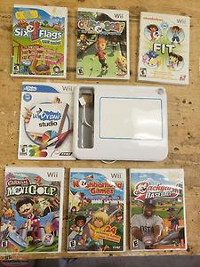 Wii Games and Wii u Draw