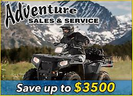 POLARIS Factory Authorized Clearance on NOW!!!