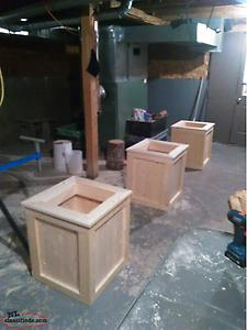 Planter Boxes/ Benches
